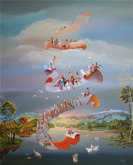 Мир волшебства в живописи. Аллегорические сюжеты. 16ddfda30cfb