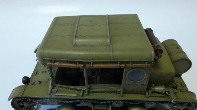 Тягач Т-26 / трофейный польский С7Р, 1/35, (Mirage hobby 35903). 3840393ae194