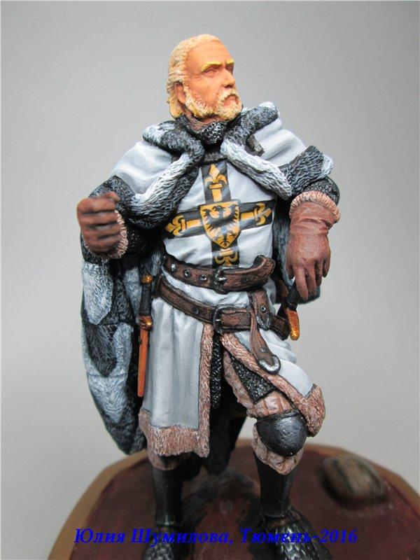 Великий Магистр Тевтонского ордена, 14в.. На Конкурс по росписи миниатюры. 369ee35f437d