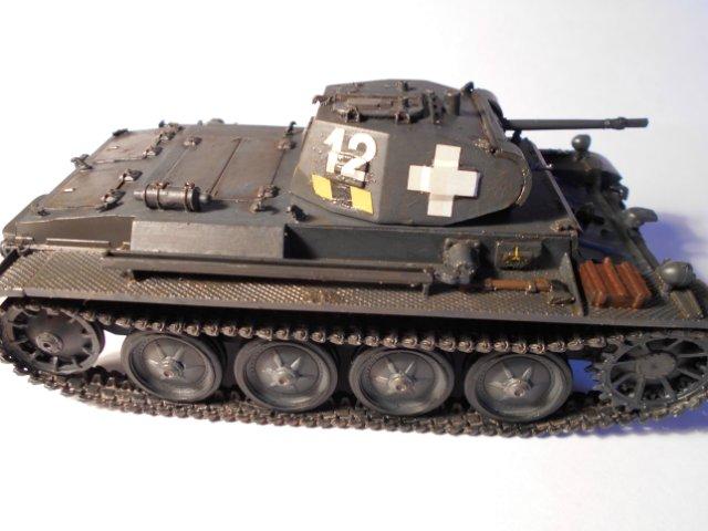 Pz.Kpfw.II Ausf.D 1/35 (Арк Модел) 07b9a28951b0