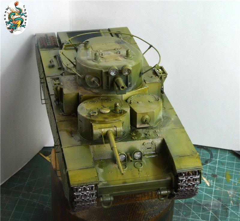 Soviet T-35 Heavy Tank Hobby/Boss 1/35 Fd186e5d092c