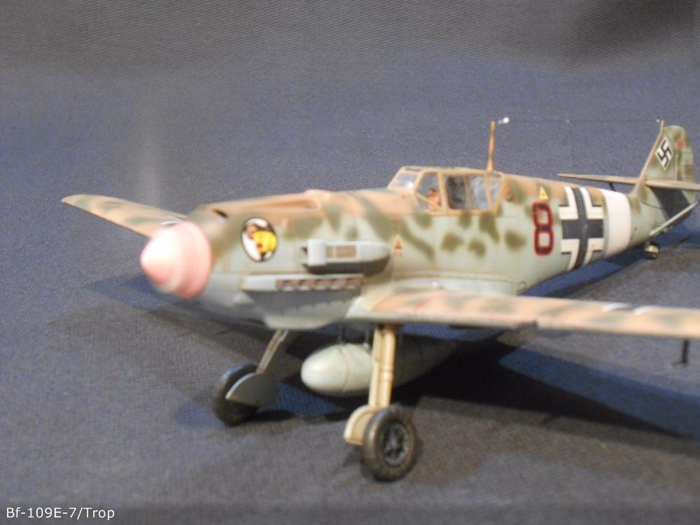 Bf 109 E7/Trop Tamiya 1:48 9214ac9a64b2