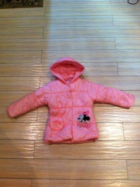 Курточка и теплое пальто на девочку р.104-110 8b3cffd3c283