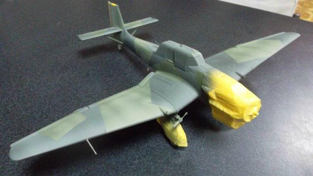 Ju-87 B-2 «Stuka», 1/48, (Tamiya 37008). 84173b377065