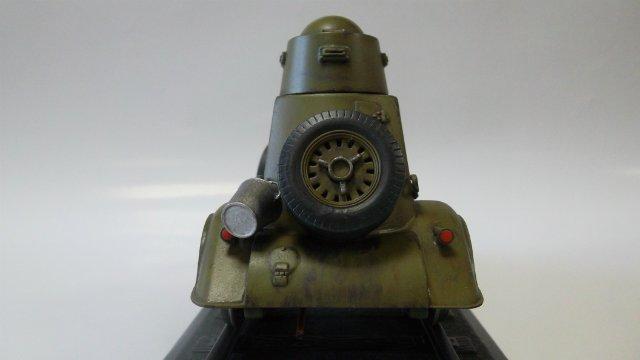 Бронеавтомобиль БА-20 Ж/Д, 1/35, (Старт). 10e8ed9d45eb