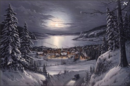 Магия ночи в живописи 42bce2d14793