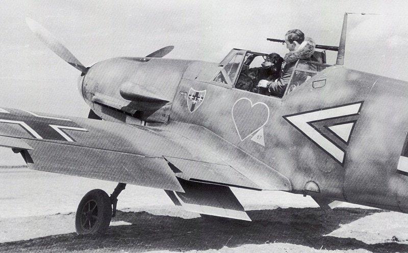 """Bf-109 g-6AS W.Oesau """"Az model"""" 1/72 347088a43ba0"""