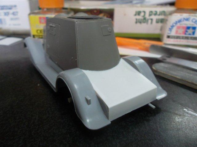 Бронеавтомобиль ФАИ-М, 1/35, (MSD 3562). Ffaa6bbdf6f7