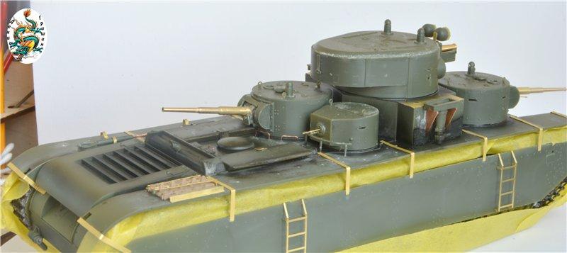Soviet T-35 Heavy Tank Hobby/Boss 1/35 6a8c750d56e0