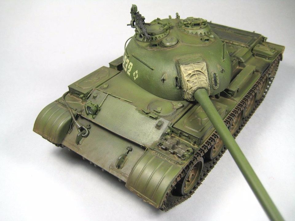 Т-54 образца 1951 г.  Aa51a0f4b632