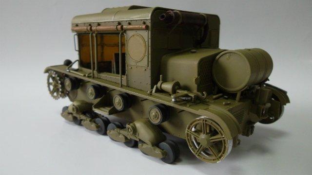 Тягач Т-26 / трофейный польский С7Р, 1/35, (Mirage hobby 35903). 9a0bcaf5e939