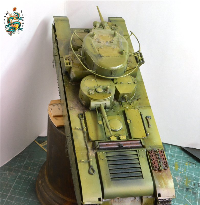 Soviet T-35 Heavy Tank Hobby/Boss 1/35 A96dfe7f38b1