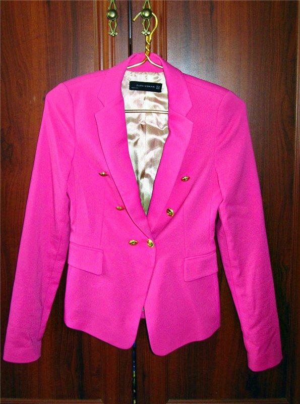 Брендовый пиджак Zara размер 42 D5d28192ffb4