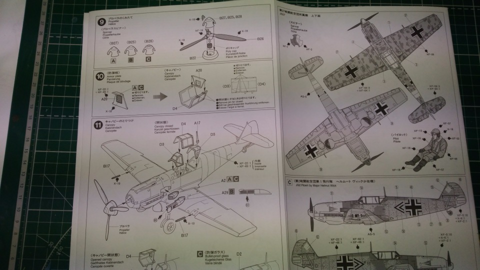 Bf 109 E7/Trop Tamiya 1:48 3456faed2651