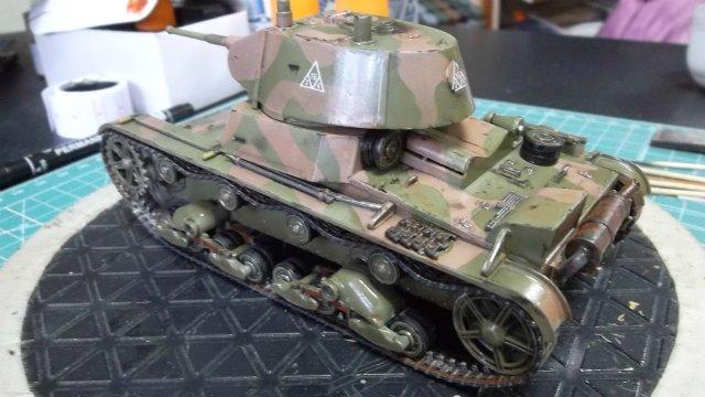 Т-26 обр. 1939 г. 1/35, (Mirage hobby 35309). 03ef90f4349a