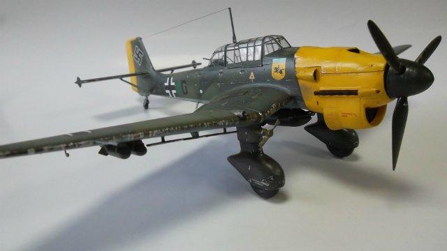 Ju-87 B-2 «Stuka», 1/48, (Tamiya 37008). 4d7a7b776491