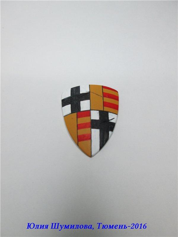 Великий Магистр Тевтонского ордена, 14в.. На Конкурс по росписи миниатюры. C74dd4173485