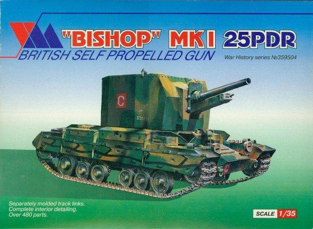 Bishop MkI, 1/35, (Maquette 3551 / Ex-VM 359504). E36f9b254c45