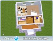 Проект часного дома с мансардой  Da8c0d115631