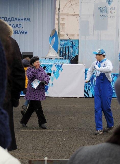 "Эстафета Паралимпийского огня ""Сочи 2014"" в г. Ярославле 8c92345235f1"