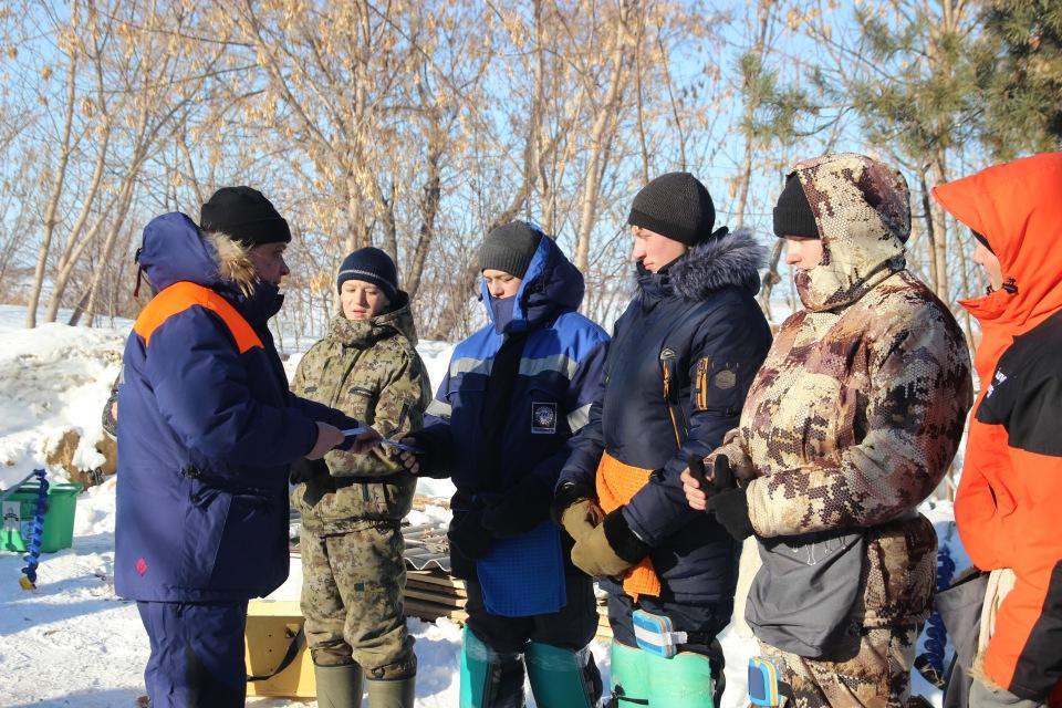 Первенство города Кургана по ловле на мормышку со льда среди юношей и девушек с 14 до 17 лет. 9ce99411cf25