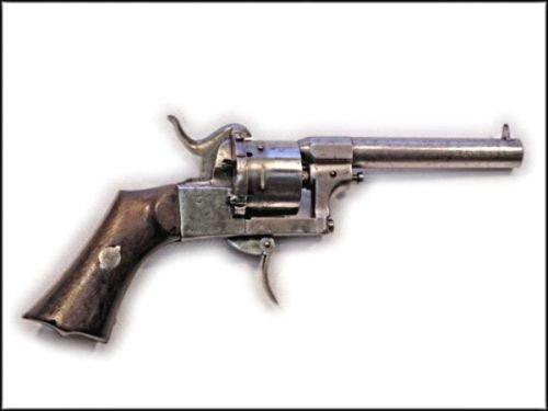 Гильзы шпилечных патронов конструкции Лефоше. E4b65280e3ac
