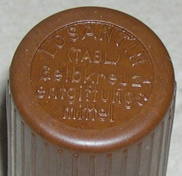 "Пенал от Hautentgiftungmittel - средства для обеззараживания кожи (""лозантинница"") 146318eeedc4"