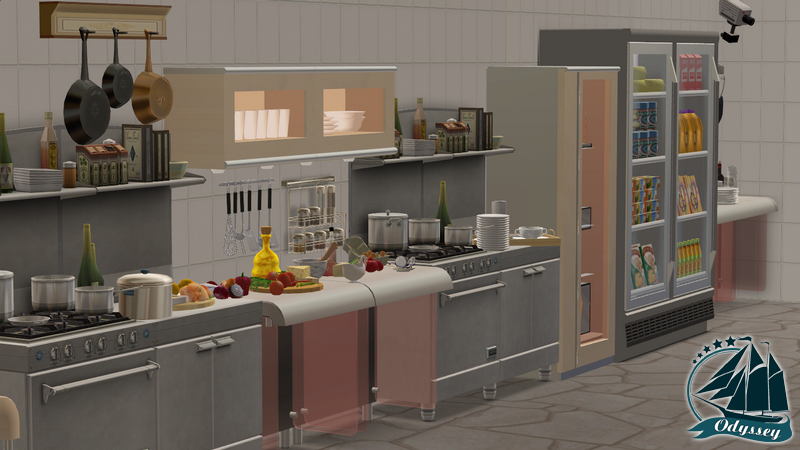 Кухня. Технические помещения. 6704cb4d9952
