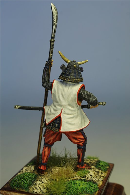 Самурай Датэ Масамунэ живший в 1566 – 1636 годах, 54мм. E7beac708db7