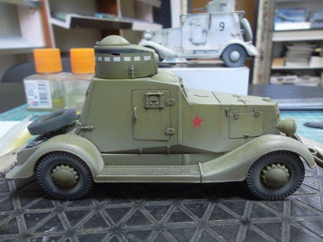 Бронеавтомобиль ФАИ-М, 1/35, (MSD 3562). Ea1733aaf14c
