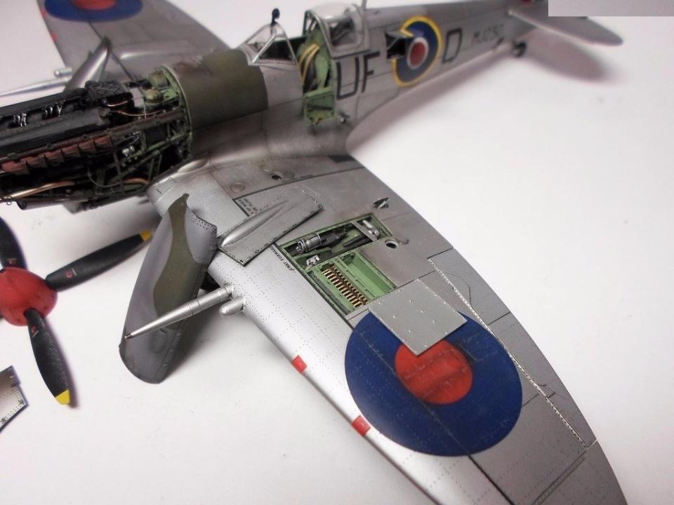 Supermarine Spitfire Eduard 1/48 Fe3e356f2a12