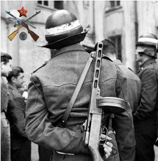 Ствол и ствольная коробка пистолета-пулемета Шпагина (ППШ-41) (ммг) 9051812a74be
