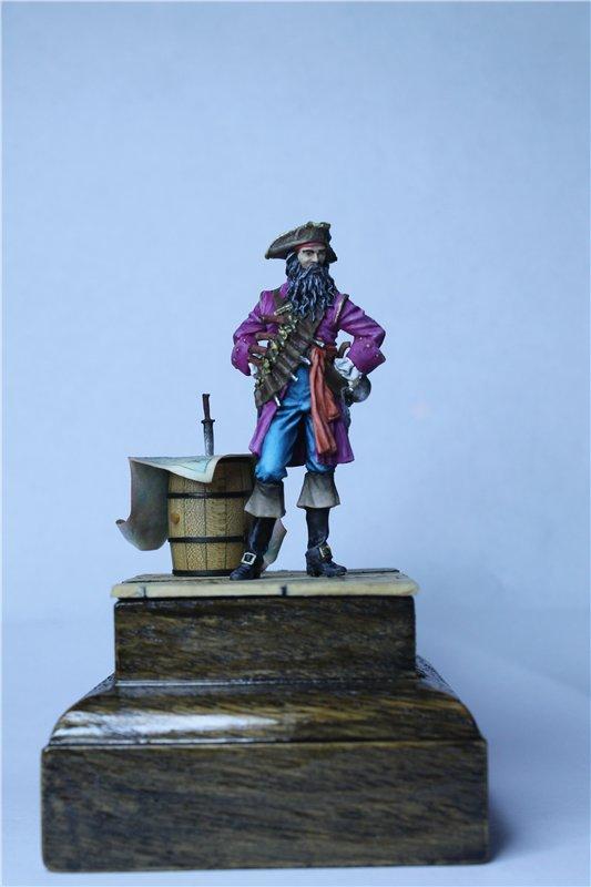 Пират Черная Борода пластик от ПРАПОРА 54мм Ce3ac4e756a8