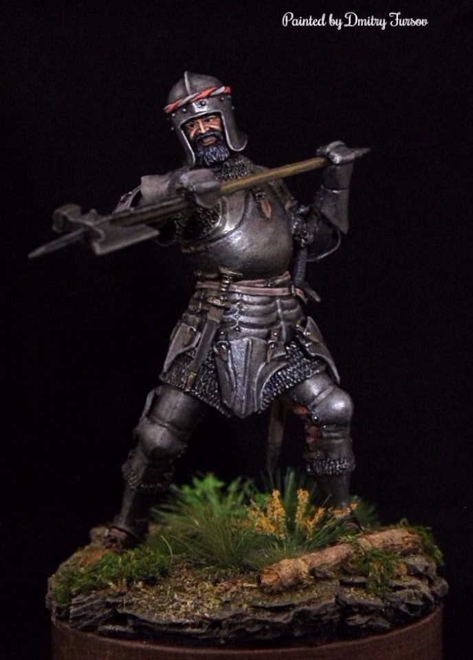 Европейский рыцарь, 15 век, Автор: Дмитрий Фурсов, г. Тамбов. Bf9c958bc239