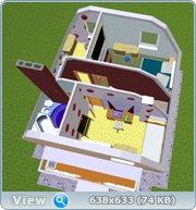 Проект часного дома с мансардой  Cf67e85f492d