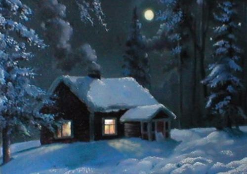 Магия ночи в живописи 8668037694cb