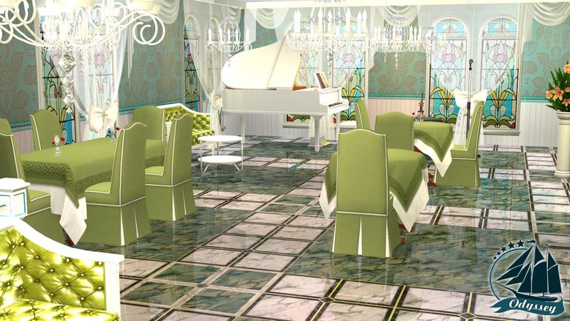 Этаж 2 (VIP) - Зеленый зал (+ терраса) - Страница 2 9db86dd3440f