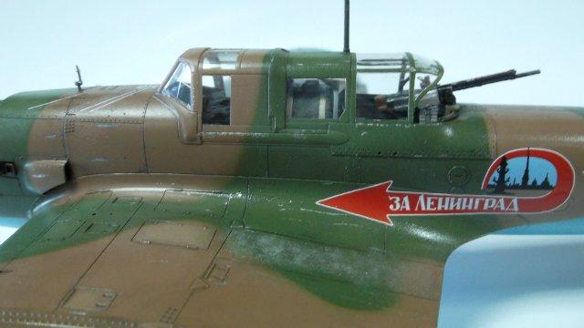 Ил-2, масштаб 1/48, (Tamiya 61113). Df0ca767fc0a