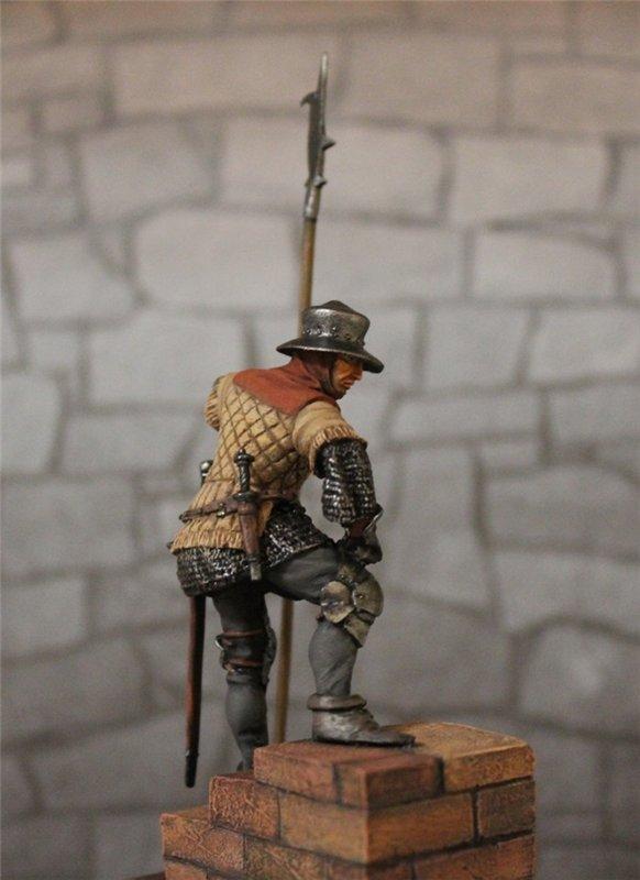 Солдат гарнизона стражи,Англия,15 век. Автор: Дмитрий Фурсов, г. Тамбов. 14f89bb4e65e
