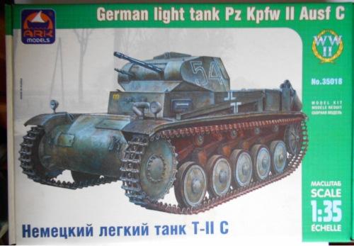 Pz.Kpfw.II Ausf.C 1/35 (Арк-модел) Bbe4d0e3b471