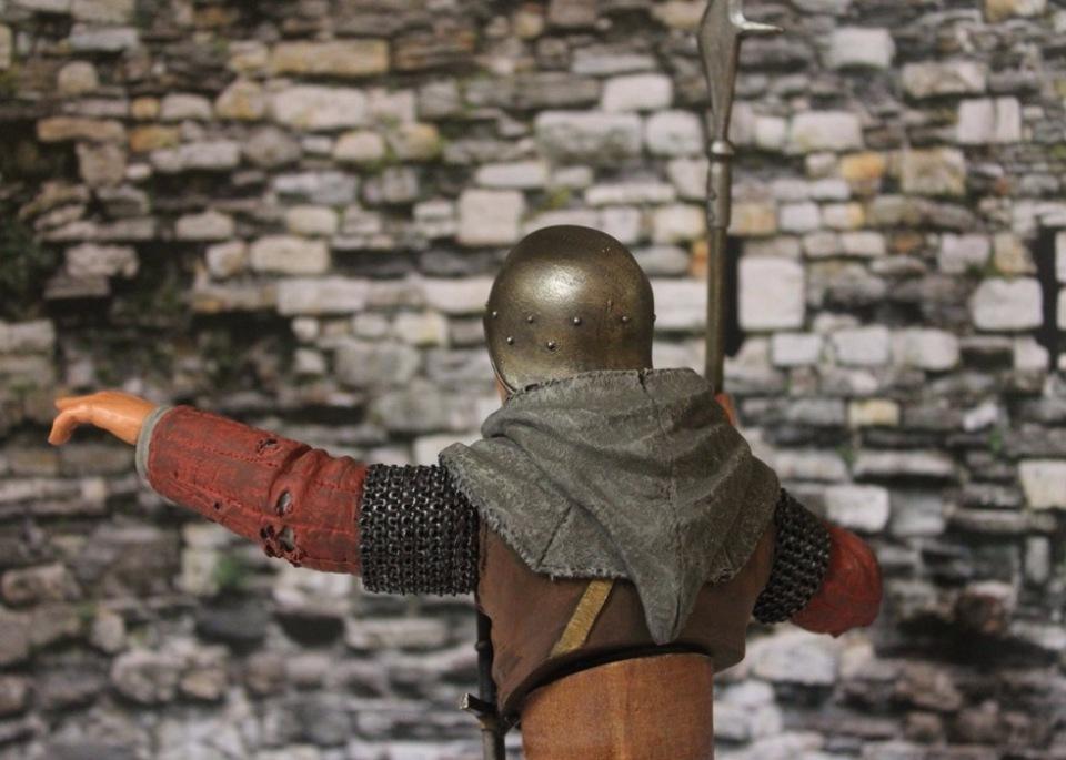 "2 шиллинга 5 пенсов ""Medieval guard"", Автор: Дмитрий Фурсов, г. Тамбов. A57ff76bfd93"