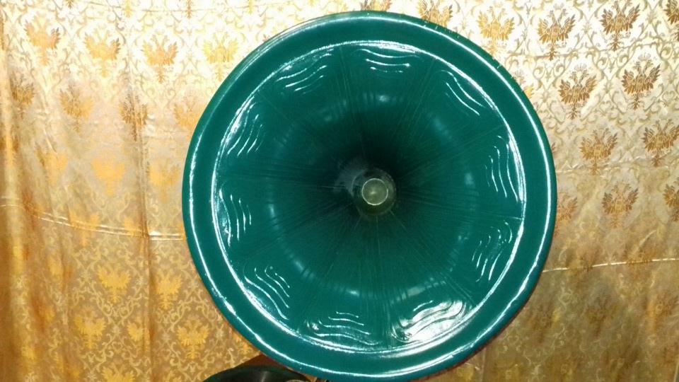 Востановление трубного граммофона. 3285d30cbc9b