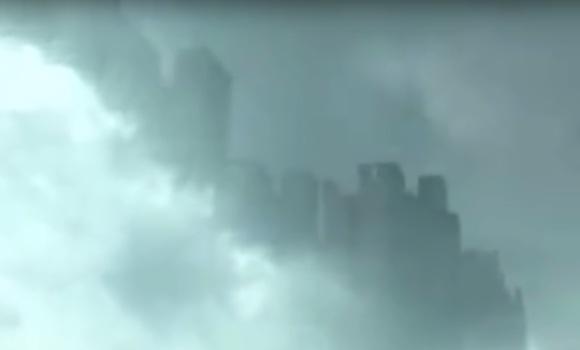 Ciudad flotante sobre el cielo de China China-ciudad-flotante-yotube