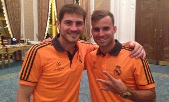 ¿Cuánto mide Jesé Rodríguez? - Real height Casillas-jese-foto-facebook-naranja-2013