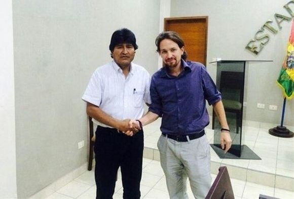 ¿Cuánto mide Evo Morales? - Altura - Real height Pablo-iglesias-evo-morales