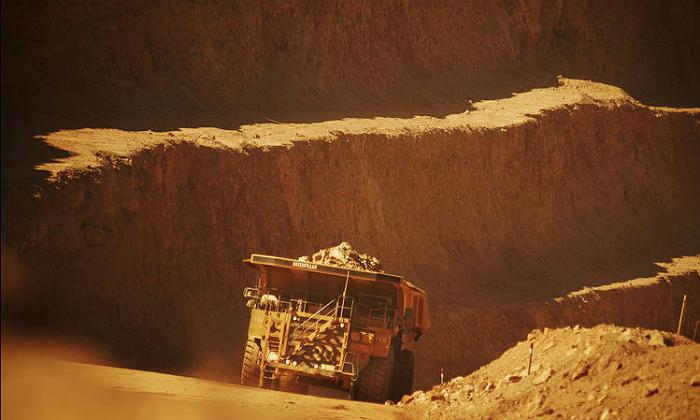 Minería internacional: dosis de realidad en las grandes empresas Cobre-mina-cieloabierto