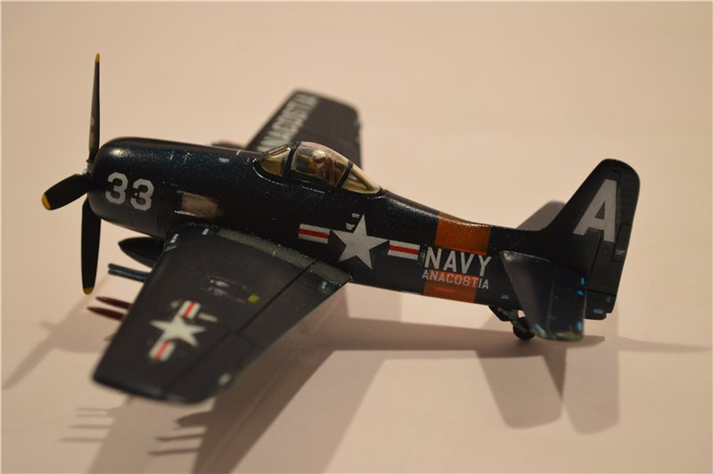 "F8F ""Bearcat"" (Revell) 1/72 F85f7d6624ac"