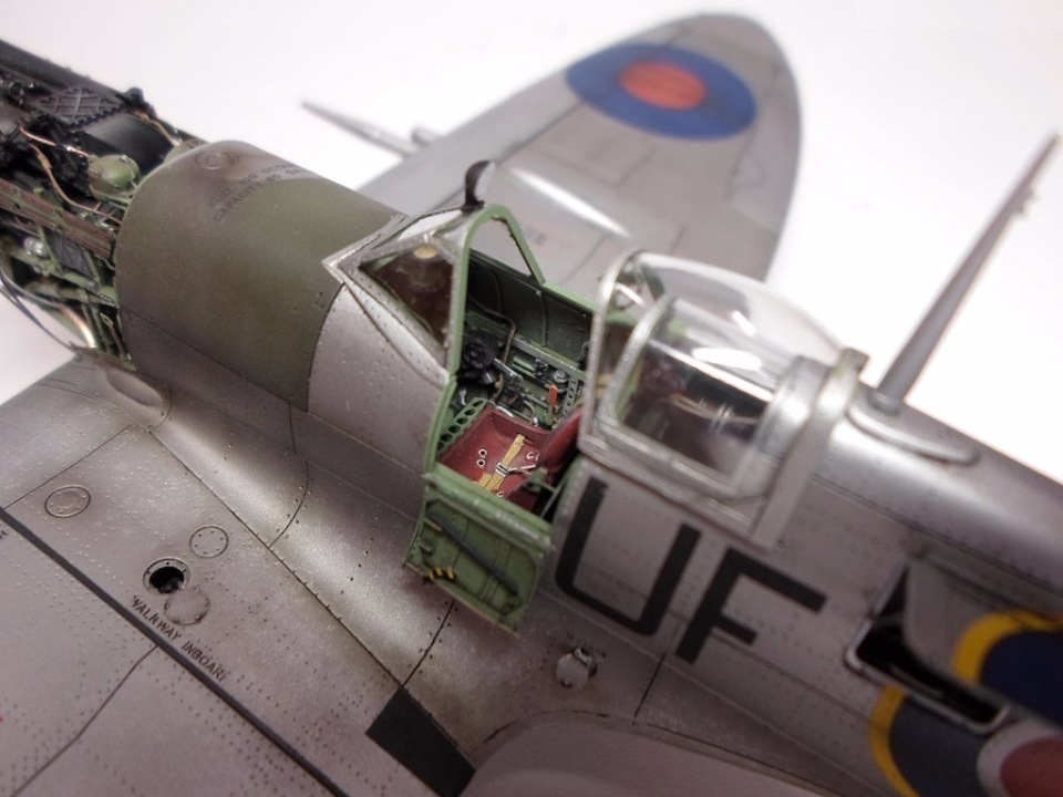 Supermarine Spitfire Eduard 1/48 1e22335fe110