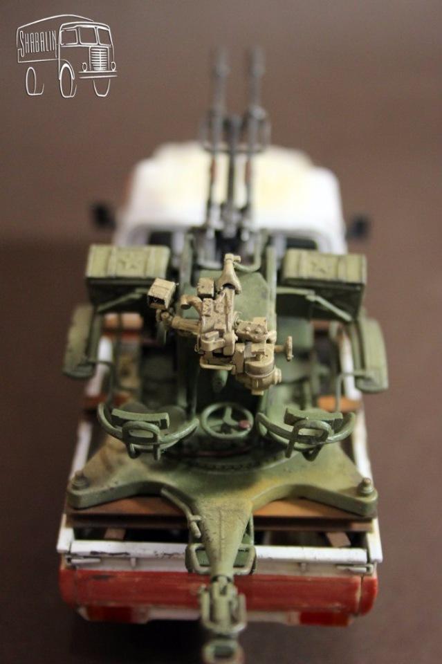 PickUP w/ZU-23-2 от Meng, масштаб 1/35 5ba24f1e57ee