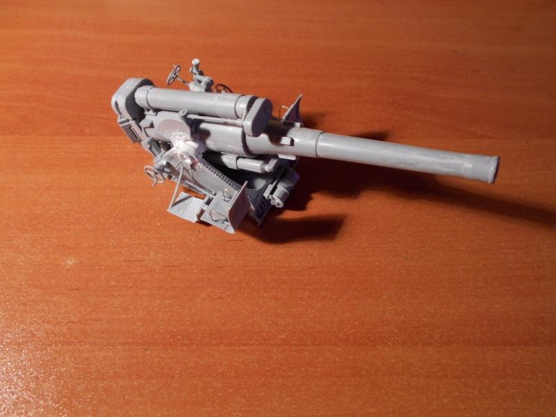 Советская 203-мм гаубица Б-4 1/35 (Alan №3522) 55275b3b922b
